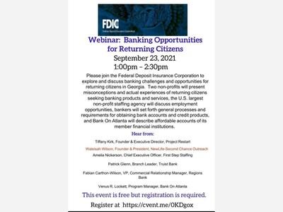 Columbus Native Waleisah Wilson to Guest Host FDIC Banking Seminar